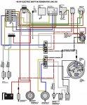 Need Wiring Diagram For 1966 40hp Evinrude Rkl 28b Boating Forum Iboats Boating Forums
